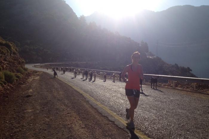 Heidi loopt 20km voor het recht op gezondheid