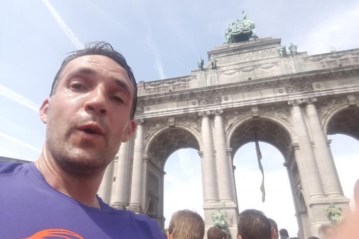 20km Brussel + Peter Geldof = Peet Zweet
