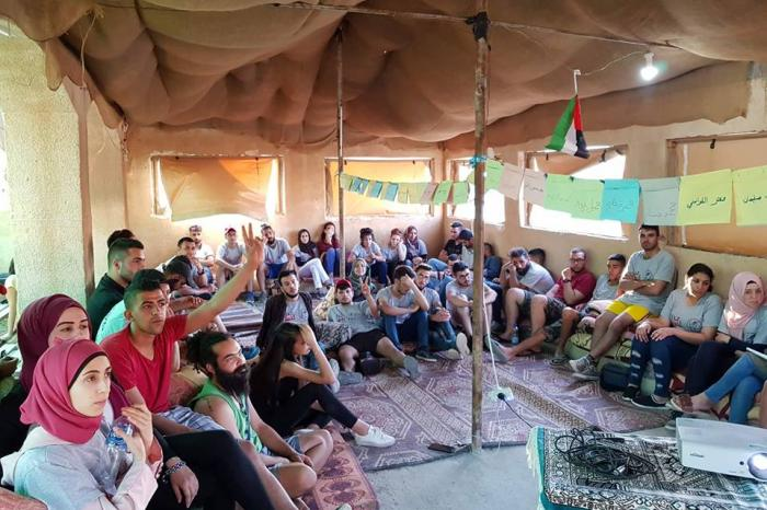 Solidair met Palestijnse jongeren / Solidarité avec les jeunes Palestiniens