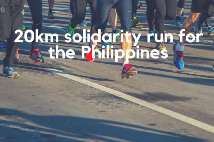 Takbo para sa karapatang pantao: Please support my solidarity run for the Philippines!
