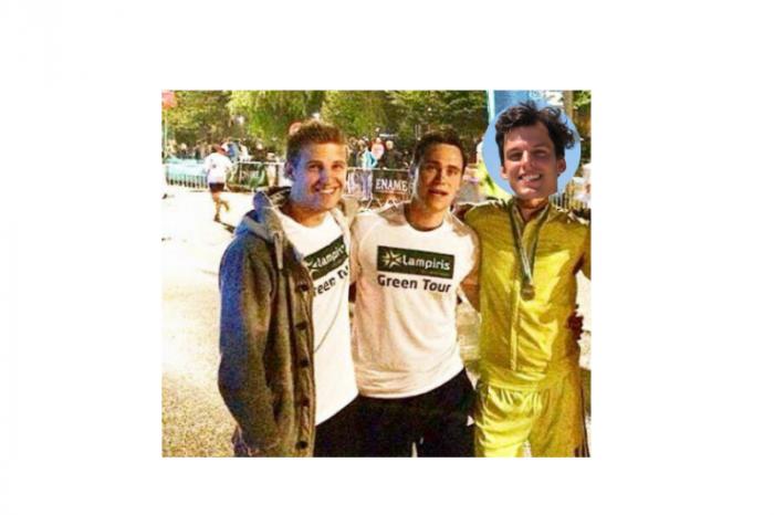 Dimi, Tibi en Jasm lopen 51km voor het goede doel